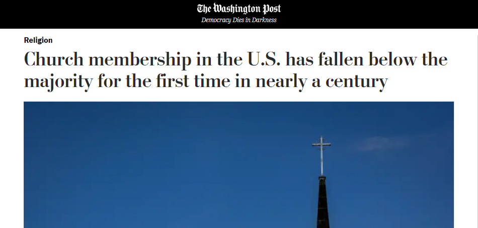 Church membership in the U.S.